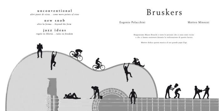 Guitar Sketch - CD booklet - Bruskers Guitar Duo