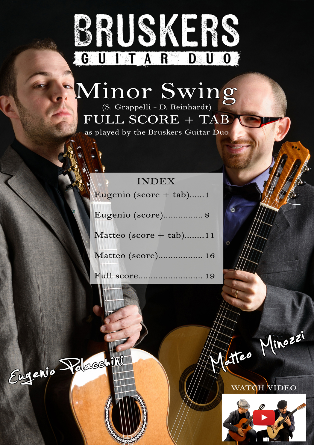 Minor Swing - Score Cover - Bruskers Guitar Duo