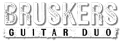 Bruskers Guitar Duo Retina Logo