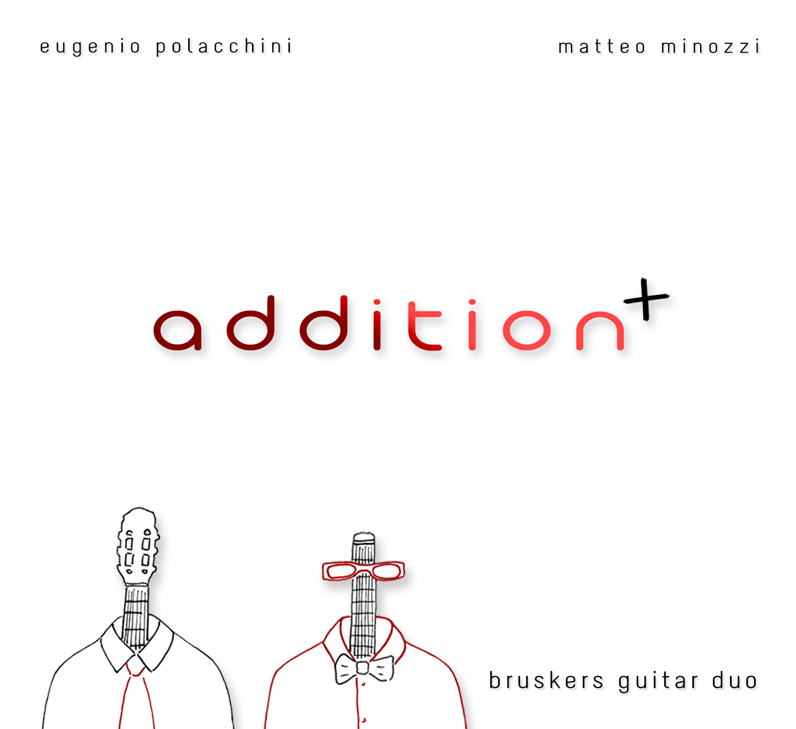 Addition - CD cover - Bruskers Guitar Duo