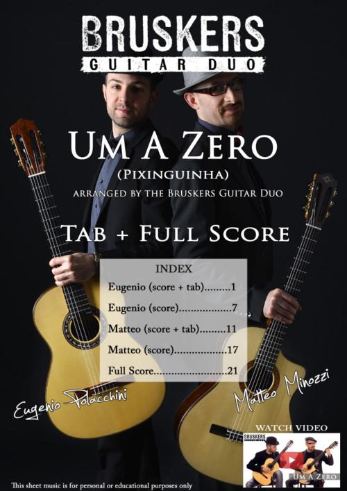 "Score cover of ""Um A Zero"""