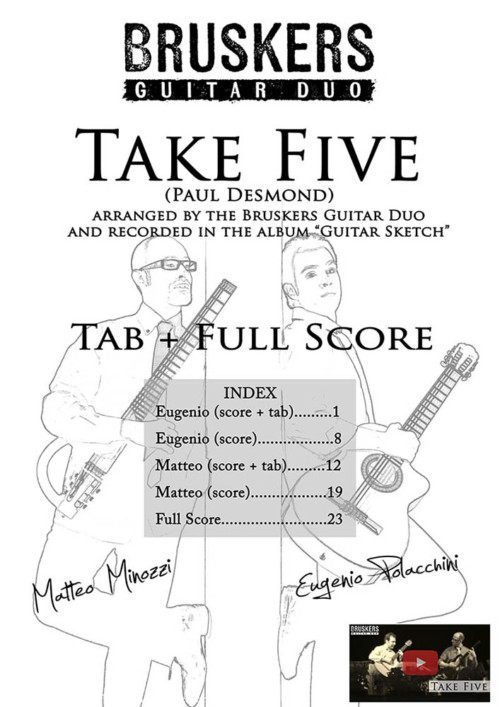 "Score cover of ""Take Five"""