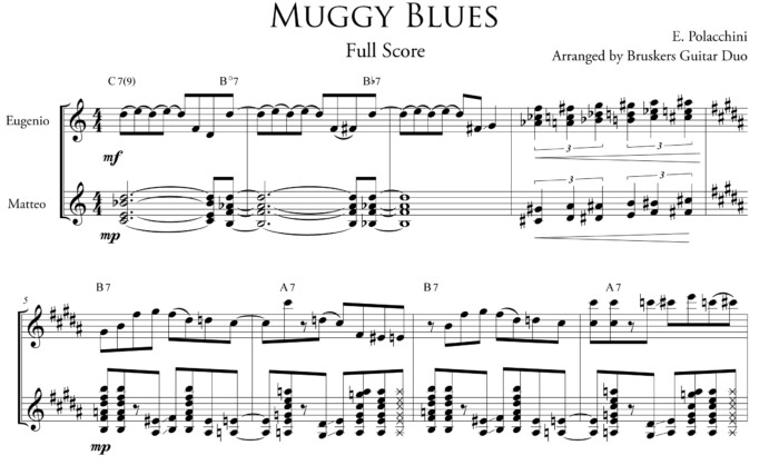 Muggy-Blues by Eugenio Polacchini - fragment